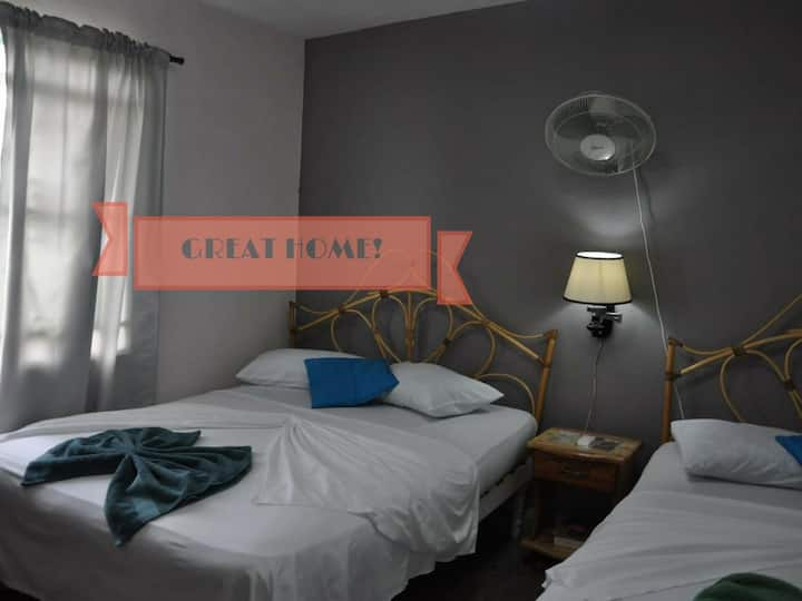 Casa Juana y Michel - Private Room A/C