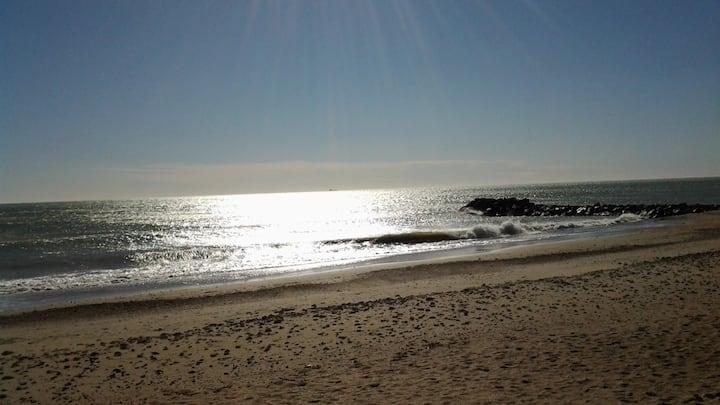 Maisonnette avec accès direct à la plage