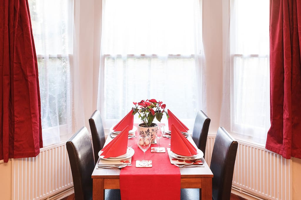 Dining facilities for you to eat at