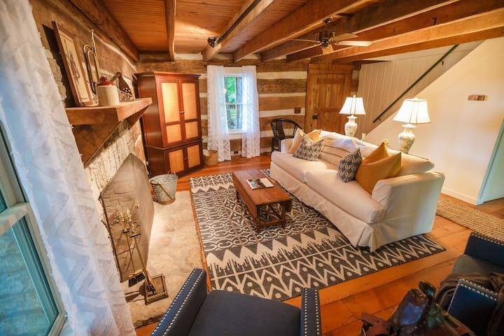 National Historic O'neal Cabin