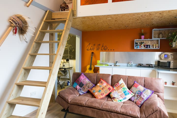 Unique mezzanine apartment - Sheffield - Apartemen