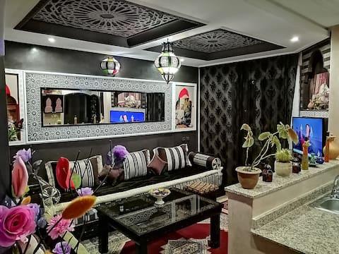 Appartement de luxe Taj mirleft (3) vue sur mer