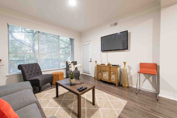 Modern and Spacious 1BR/1BA On SOCO free parking