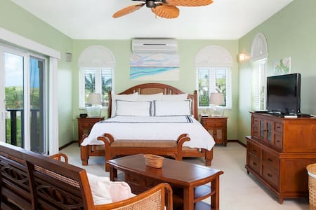 "Fountain Anguilla by ""Refined Retreats""~HUGE Studio w/ KING & Balcony~Ocean View"