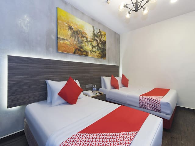 1BR Suite Triple@ Raintree Boutique Hotel