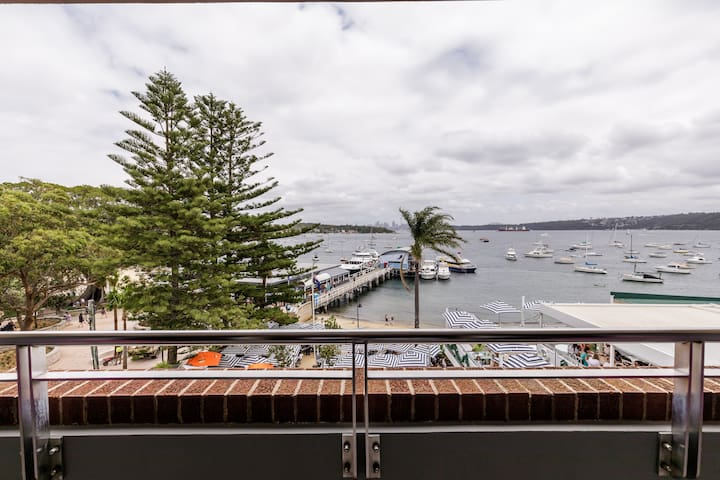 Harbour Loft Balcony with sweeping harbour views