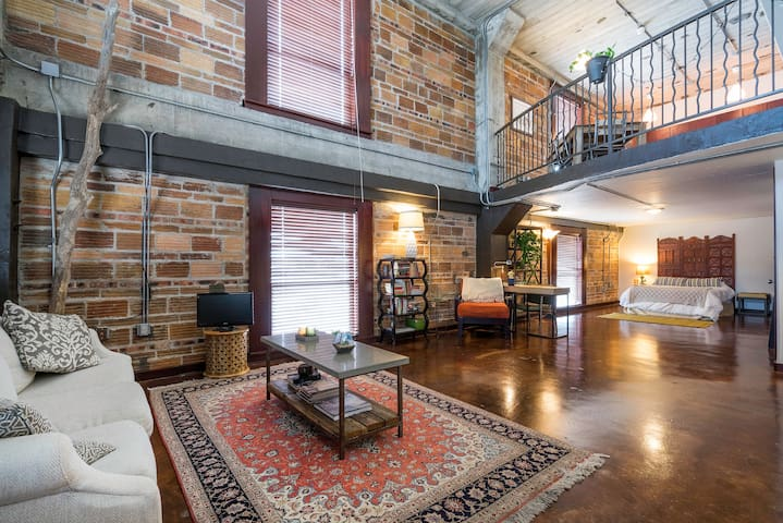 Unique 2-story Loft in East Downtown. Location!!!