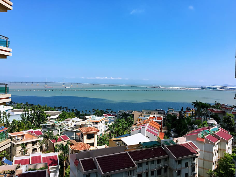 阳台海景Balcony with sea view