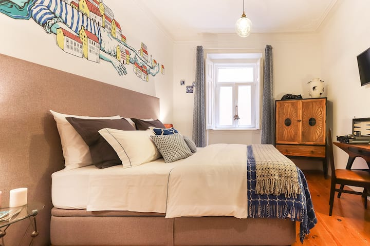 Dos Fidalgos II, a real Stylish b&b, stay at Home