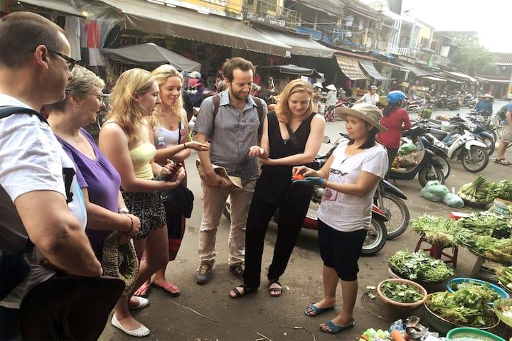 explore the local market