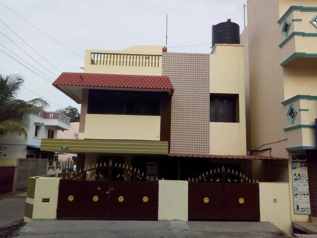 SWARNA - Furnished 1BHK @ Pondicherry- First Floor