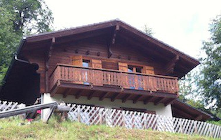 Very cosy chalet with amazing view ! - Hérémence - Chalet