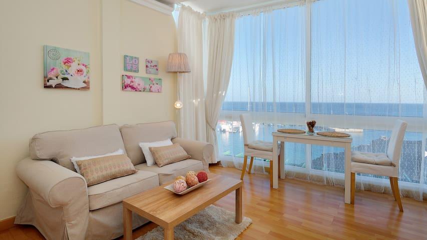 Estudio Apartamento con Vista Mar