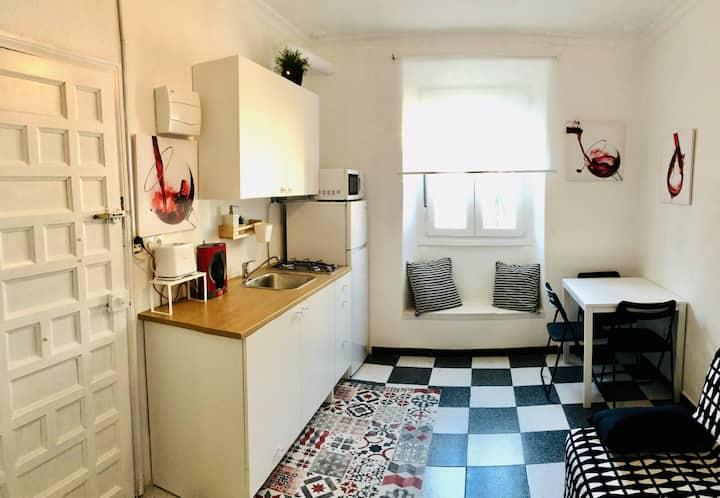 🦩 El Flamenco. Acogedor apartamento en el centro.