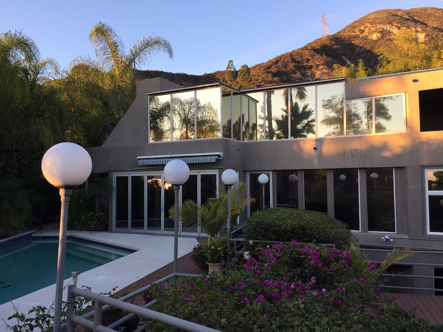 Contemporary villa.