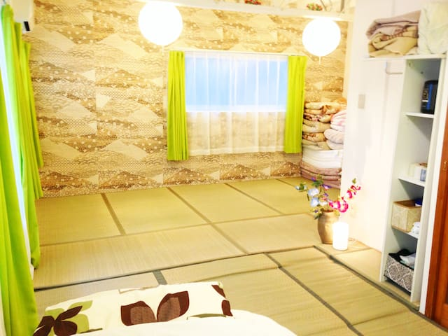 ★Big Private room 35㎡♪Free Cable TV,wi-fi,bicycle♪ - Katsushika-ku - House