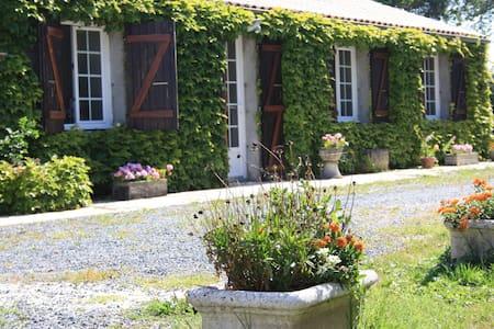 Beau gîte charentais - Loire-les-Marais - Doğa içinde pansiyon