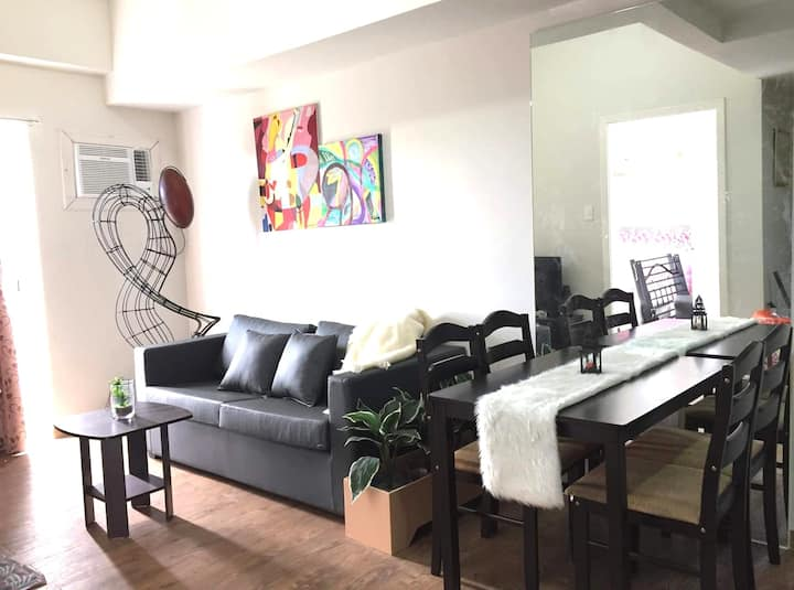 Spacious 1 Bedroom Condo near Mactan Cebu Airport
