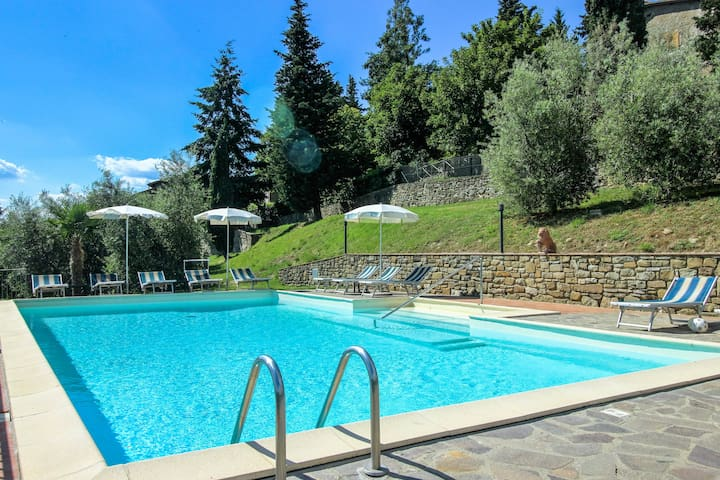 La Madonna of Tuscany shared POOL 3BR 2BA - Reggello - Daire