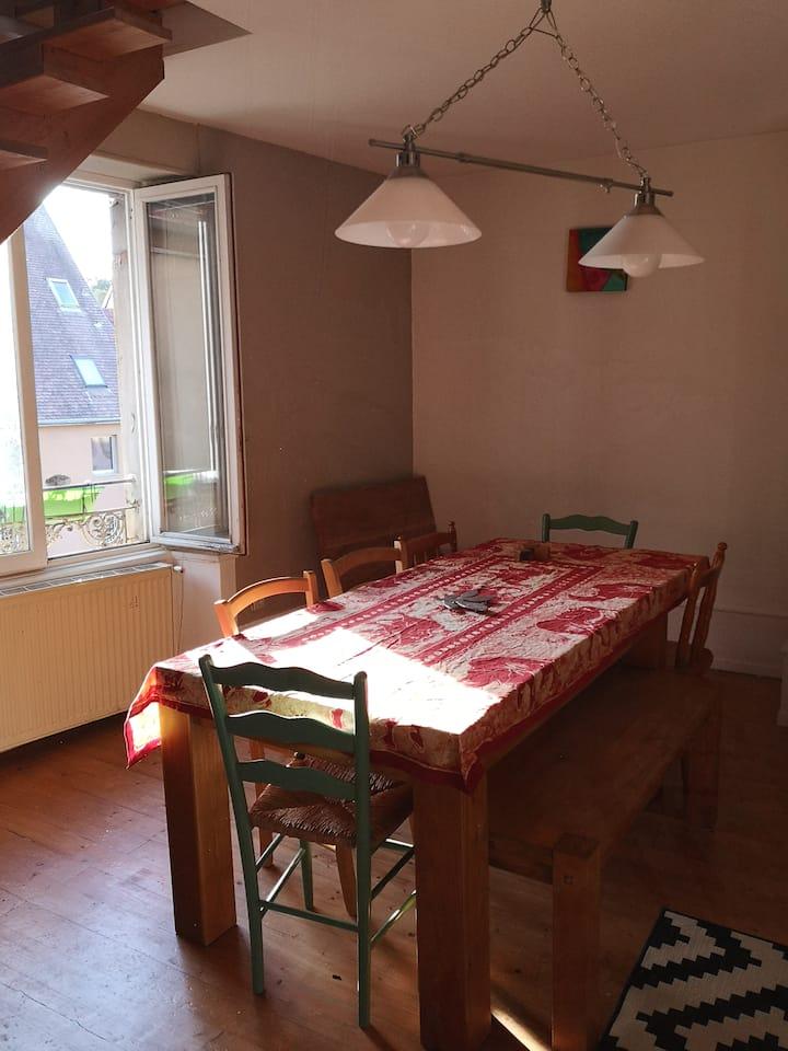 Chambre au cœur de Montbéliard