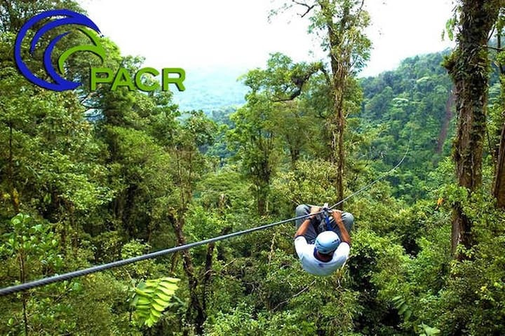 zipline/canopy tours available, Contact host for details