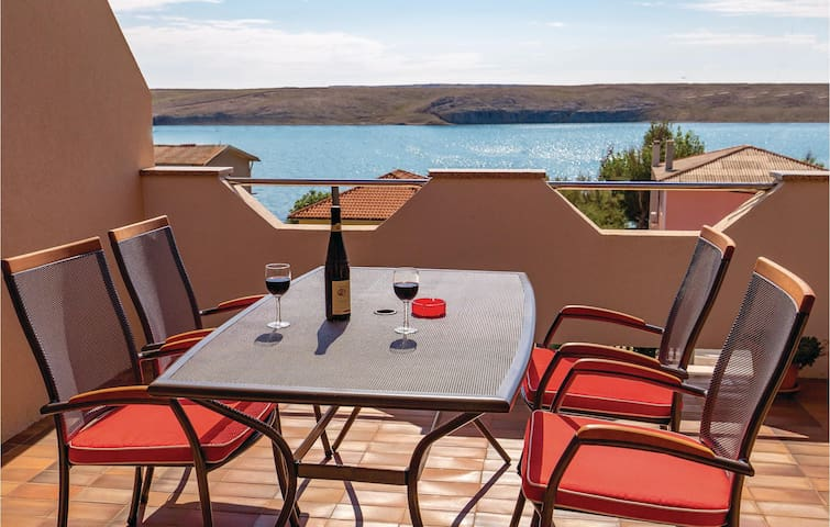 Holiday apartment with 1 bedroom on 30m² in Dinjiska