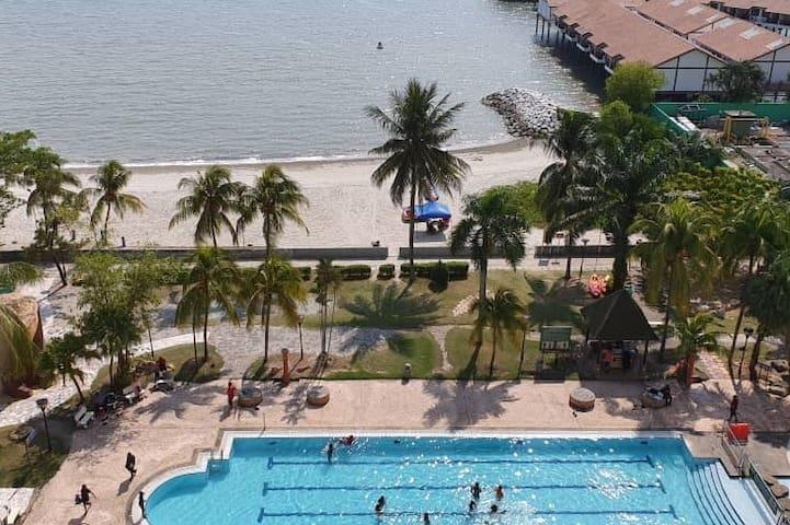 Port Dickson Glory Beach Resort First Class Condo