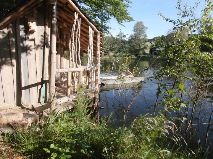 L'Etang d'Anty : Cabane de l'explorateur
