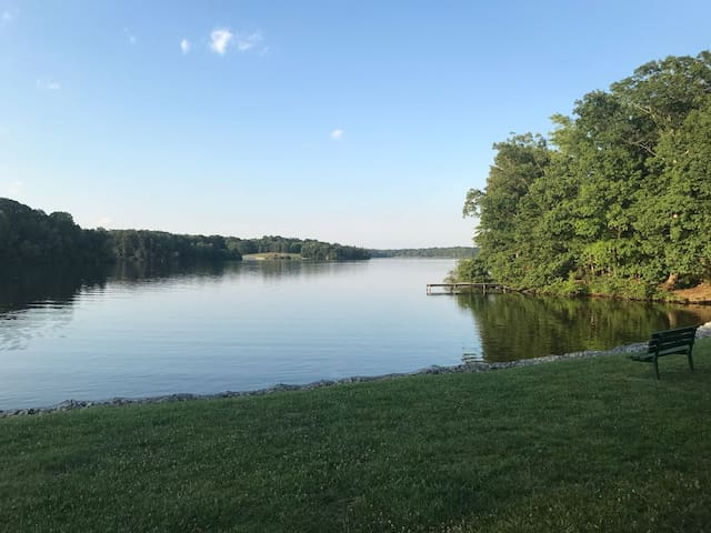 RVing at Oak Hollow Campground