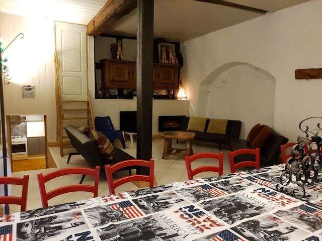 Riquewihr : Maison du 16e siècle pour maxi 30 pers