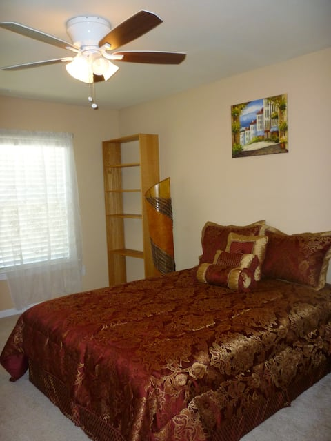 Centrally located Room #1