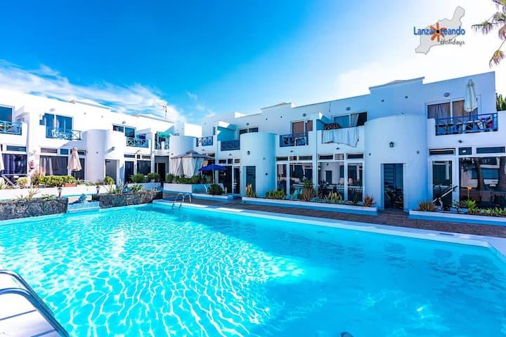 Blue Lagoon new ground floor apt compl w/pool PdC