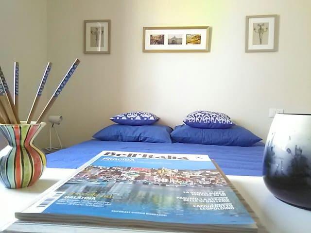 La camera blu, Piacenza