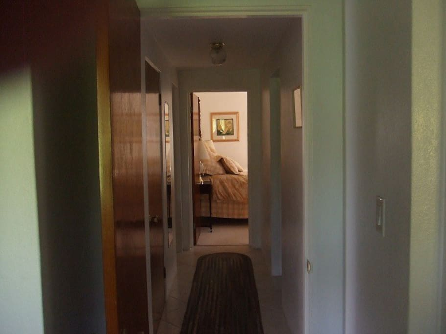 Hallway to Bedroom #1