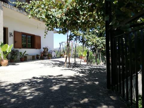 Maison verte - Parc national du Cilento