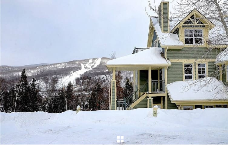 Tremblant Les Eaux -Mountain view / 2 Bedroom-2 Ba