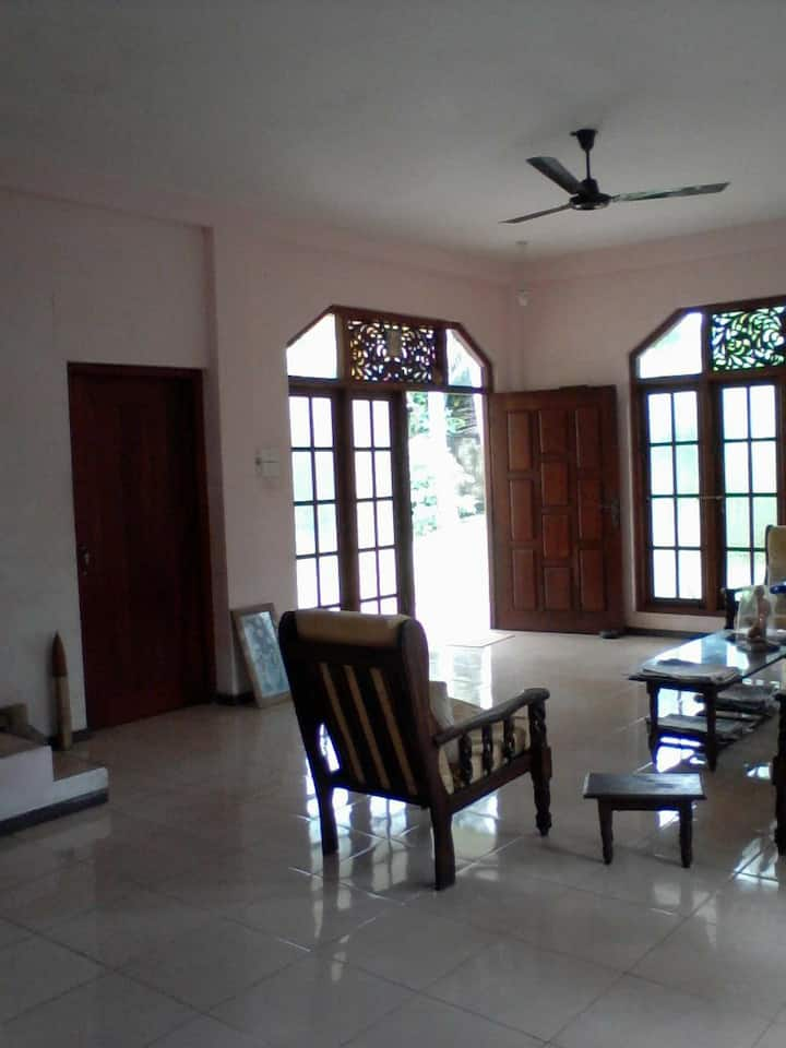 A beautiful house,calm & quiet area with security