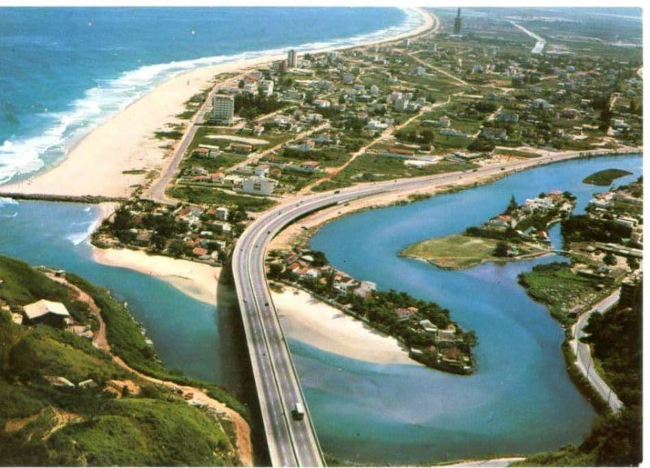 Entrada da Praia da Joatinga.