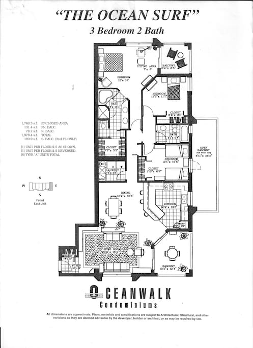 FLOOR PLAN OF THIS FAMILY END UNIT