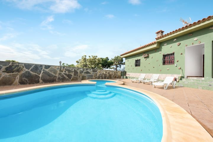 Holiday Home 'Finca Aramai' with Sea View, Pool, Wi-Fi & Terraces; Parking Available