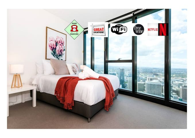 ★ ENJOY WHAT BRISBANE HAS TO OFFER★CBD★C/park★WIFI