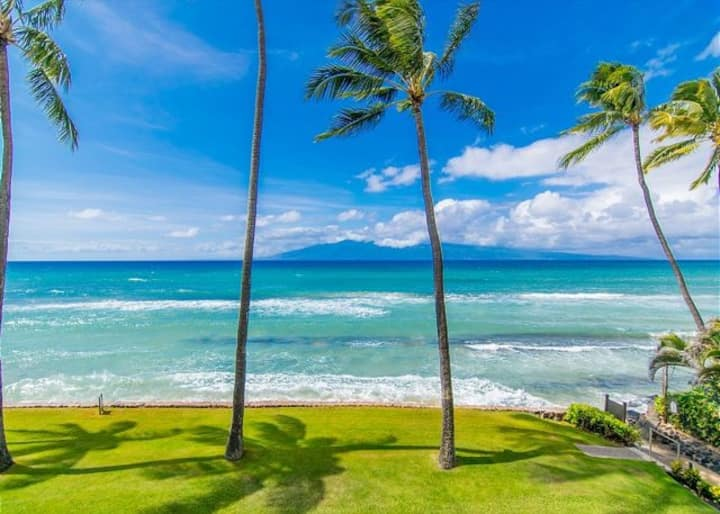 Oceanfront Papakea A207- Luxury Waterfront Condo