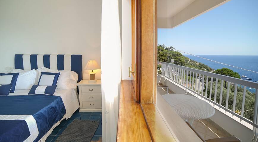 Villa Nerano - Bedroom