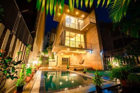 Lonavala Boutique Pvt Pool- Tranquility 3BHK Villa