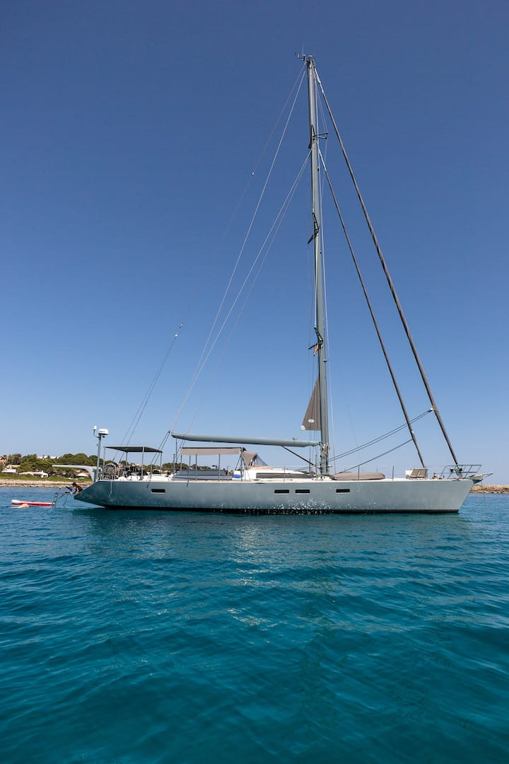 Luxury Sailing Yacht in Formentera