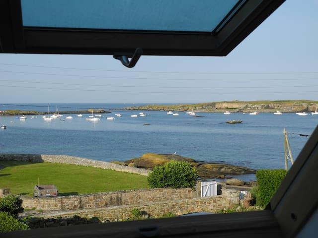 Petite maison pleine vue sur mer - Porspoder - House