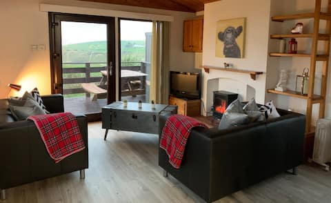 Sealladh 1 Farm Stay with unspoilt sea views