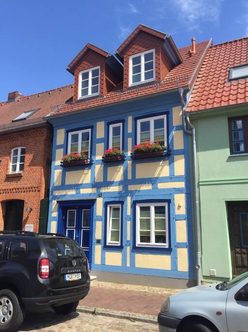 Ihr Fachwerkhäuschen in der Altstadt Röbel`s..