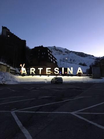Monolocale fronte piste - Artesina