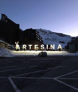 Monolocale fronte piste - Artesina - Lägenhet